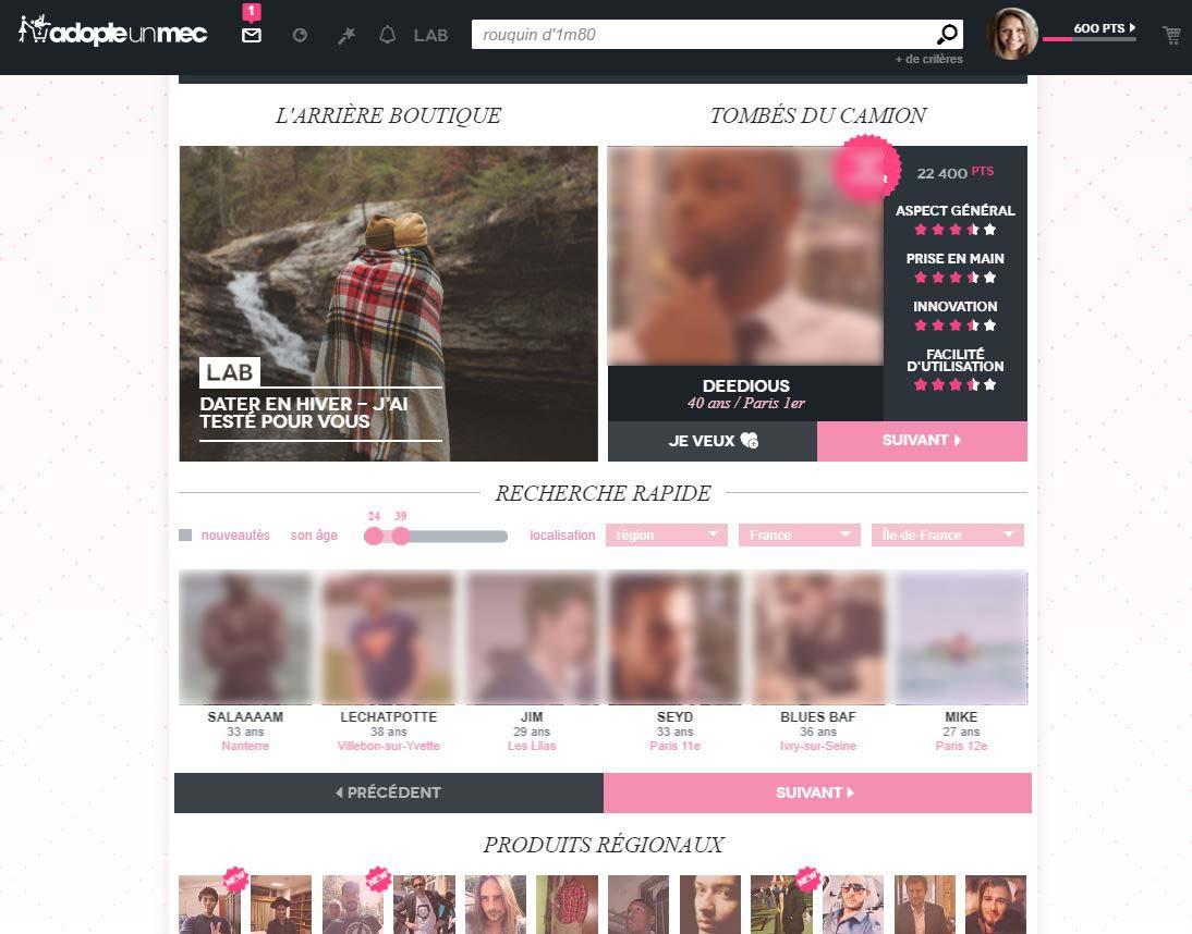 profils adopteunmec