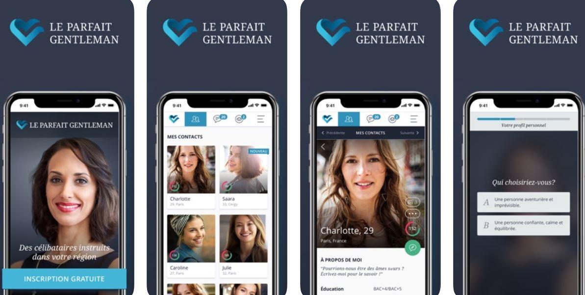 Site Le Parfait Gentleman