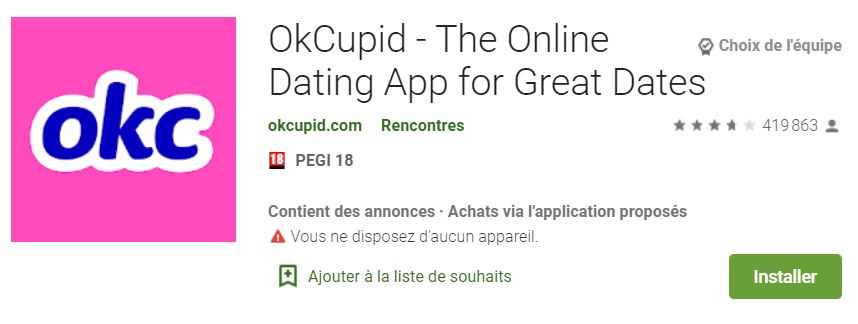 app store application de rencontre cupid