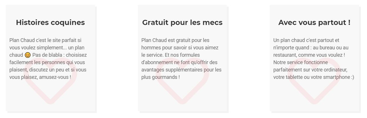 site coquin plan chaud