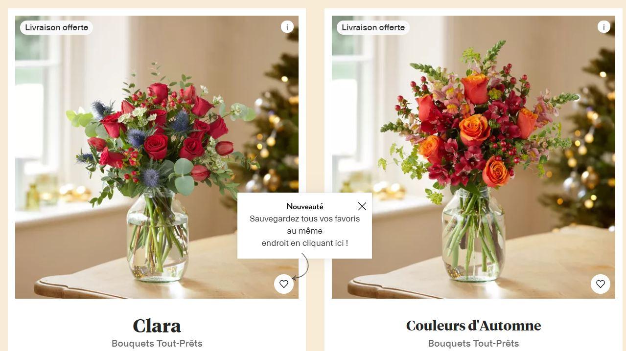 avis bouquet de fleurs bloom and wild